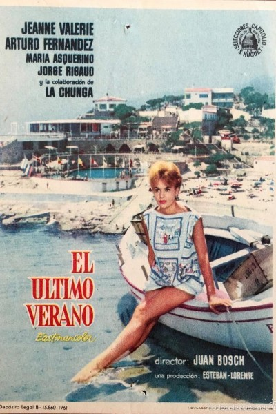 Caratula, cartel, poster o portada de El último verano