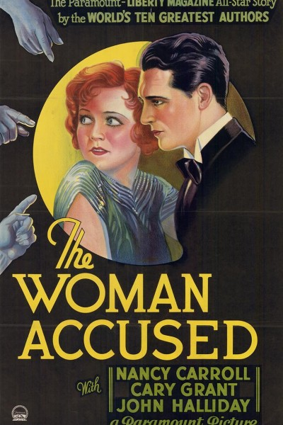 Caratula, cartel, poster o portada de La mujer acusada