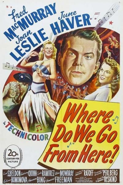 Caratula, cartel, poster o portada de ¿Adónde vamos ahora?