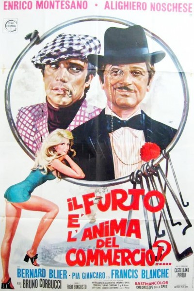 Caratula, cartel, poster o portada de Il furto è l\'anima del commercio?!...