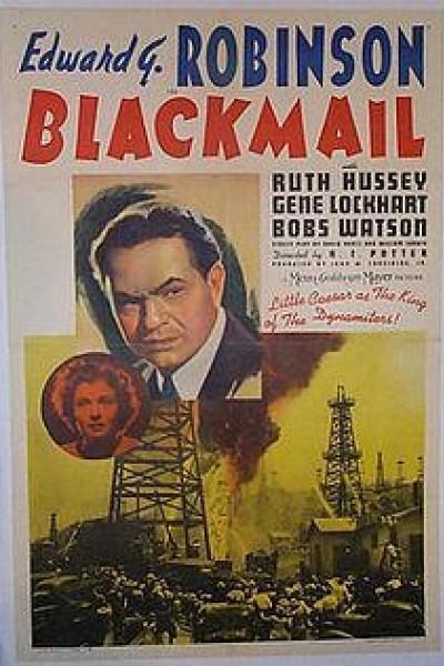 Caratula, cartel, poster o portada de Blackmail