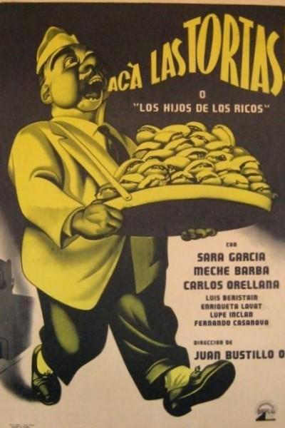 Caratula, cartel, poster o portada de Acá las tortas