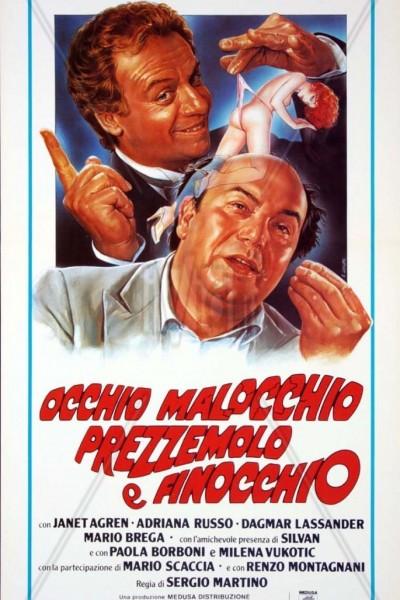Caratula, cartel, poster o portada de Occhio, malocchio, prezzemolo e finocchio