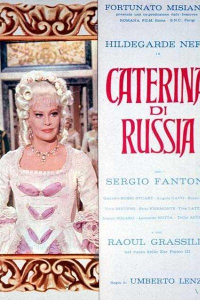 Caratula, cartel, poster o portada de Catalina de Rusia