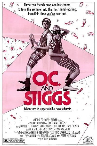 Caratula, cartel, poster o portada de ¿Quién dice locos? (O.C. and Stiggs)