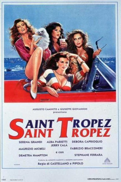 Caratula, cartel, poster o portada de Saint Tropez, Saint Tropez