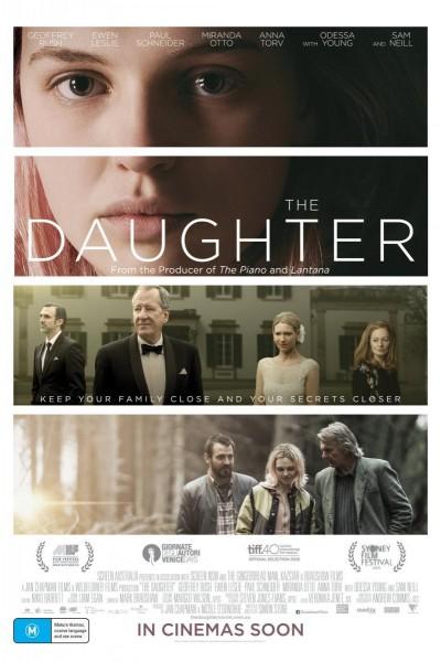 Caratula, cartel, poster o portada de The Daughter