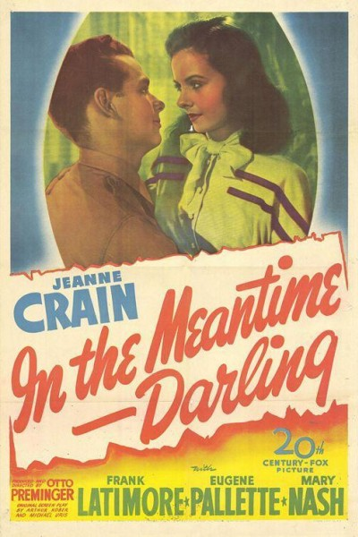 Caratula, cartel, poster o portada de In the Meantime, Darling