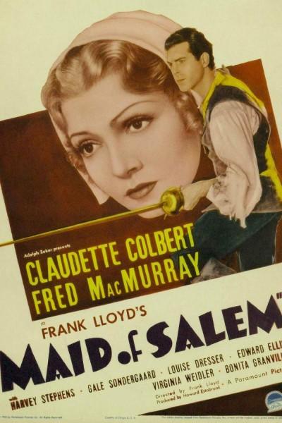 Caratula, cartel, poster o portada de La muchacha de Salem