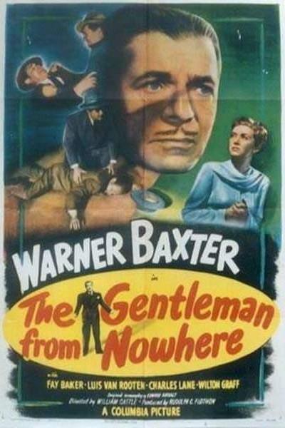 Caratula, cartel, poster o portada de The Gentleman from Nowhere