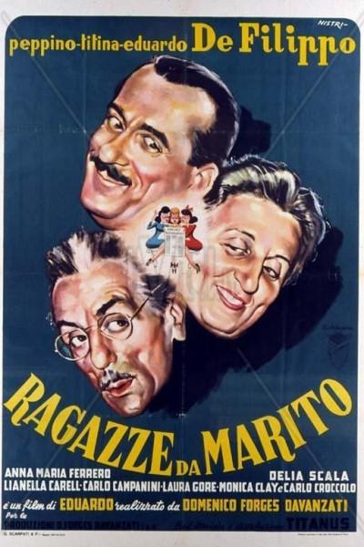 Caratula, cartel, poster o portada de Ragazze da marito