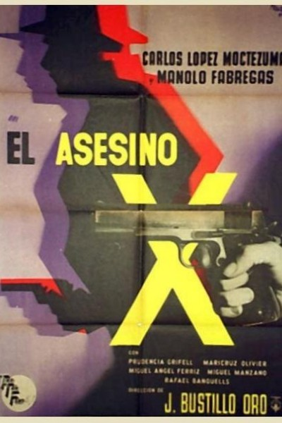 Caratula, cartel, poster o portada de El asesino X