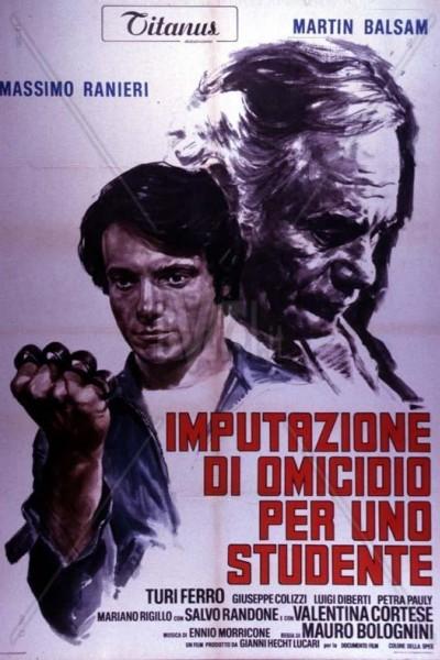 Caratula, cartel, poster o portada de Proceso a un estudiante acusado de homicidio