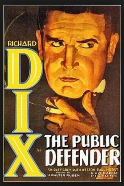 Caratula, cartel, poster o portada de El defensor público (¿Delincuente?)