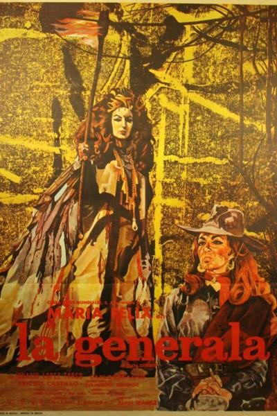 Caratula, cartel, poster o portada de La generala