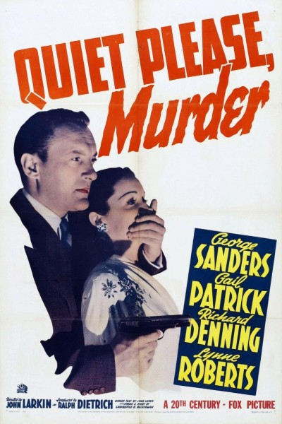 Caratula, cartel, poster o portada de Quiet Please: Murder