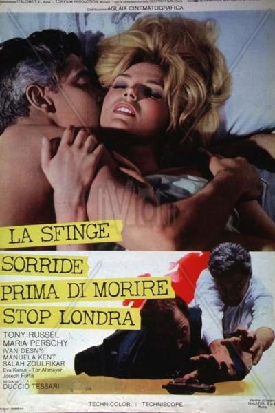 Caratula, cartel, poster o portada de La esfinge sonríe antes de morir