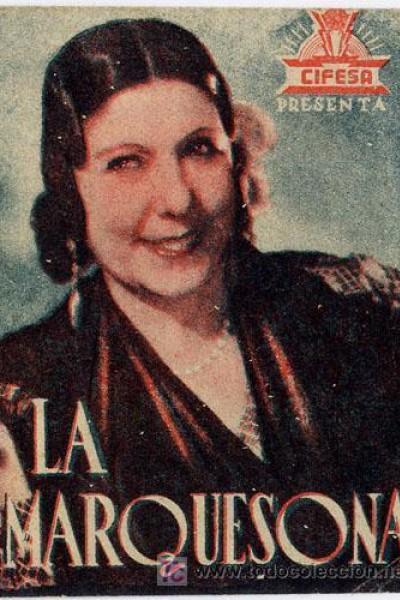 Caratula, cartel, poster o portada de La marquesona