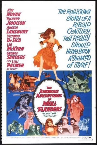 Caratula, cartel, poster o portada de The Amorous Adventures of Moll Flanders