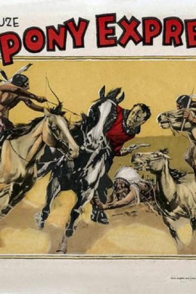 Caratula, cartel, poster o portada de Los jinetes del correo