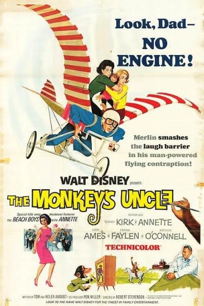 Caratula, cartel, poster o portada de El tío del mono