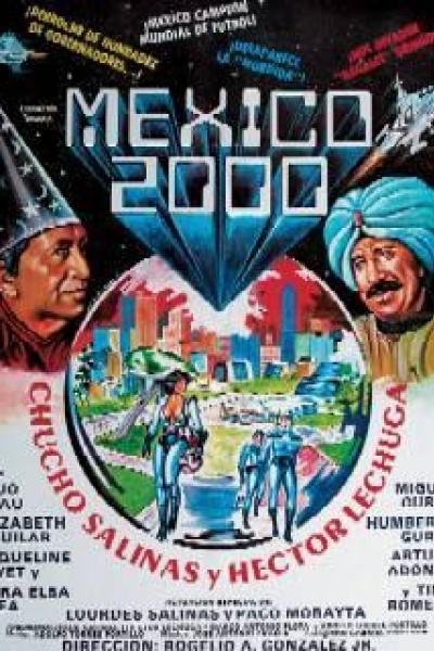 Caratula, cartel, poster o portada de México 2000
