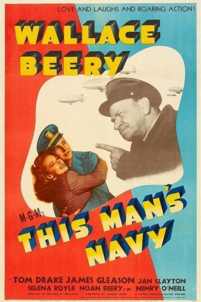 Caratula, cartel, poster o portada de This Man\'s Navy