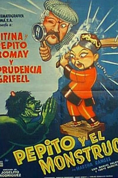 Caratula, cartel, poster o portada de Pepito y el monstruo