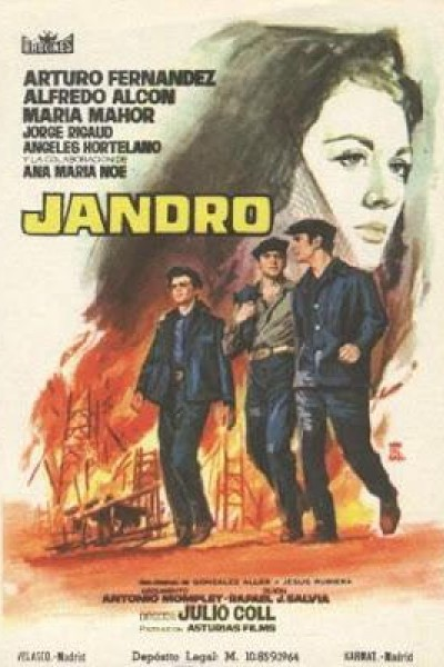 Caratula, cartel, poster o portada de Jandro