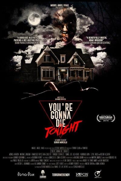 Caratula, cartel, poster o portada de You\'re Gonna Die Tonight
