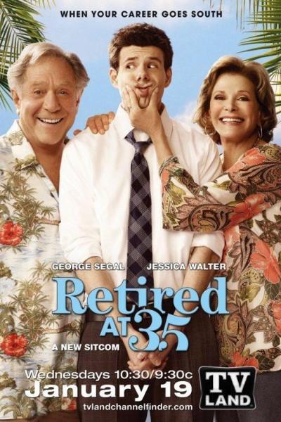 Caratula, cartel, poster o portada de Retired at 35
