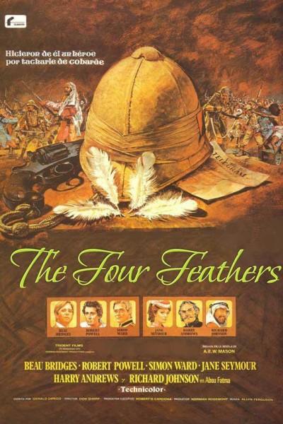 Caratula, cartel, poster o portada de Las cuatro plumas