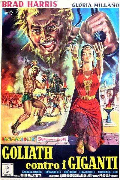 Caratula, cartel, poster o portada de Goliat contra los gigantes