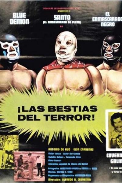 Caratula, cartel, poster o portada de Las bestias del terror
