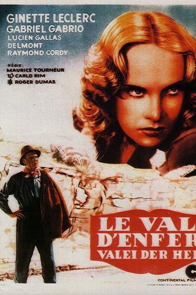 Caratula, cartel, poster o portada de Le val d\'enfer