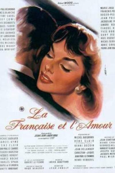 Caratula, cartel, poster o portada de La francesa y el amor