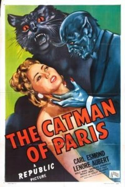 Caratula, cartel, poster o portada de The Catman of Paris