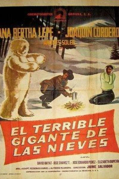 Caratula, cartel, poster o portada de El terrible gigante de las nieves