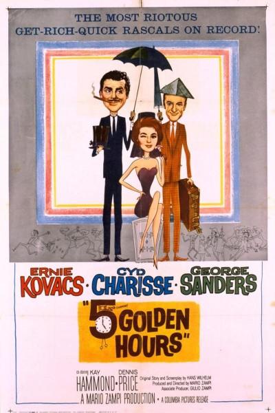 Caratula, cartel, poster o portada de Cinco horas doradas