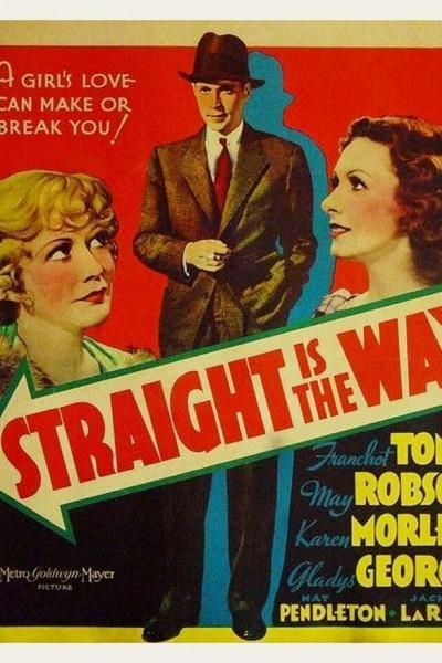 Caratula, cartel, poster o portada de Straight Is the Way