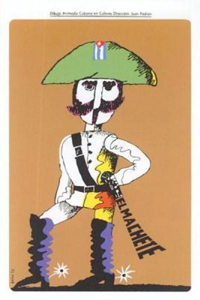 Caratula, cartel, poster o portada de El machete