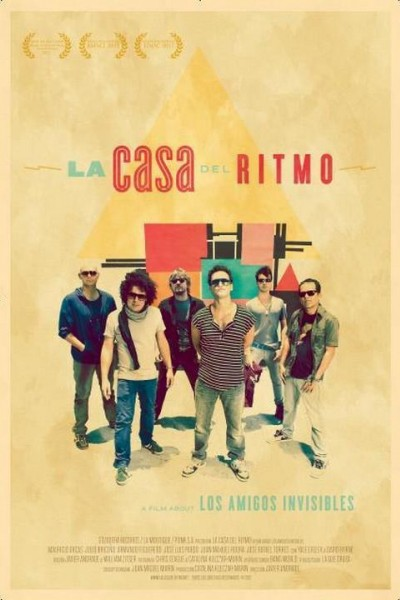 Caratula, cartel, poster o portada de La casa del ritmo