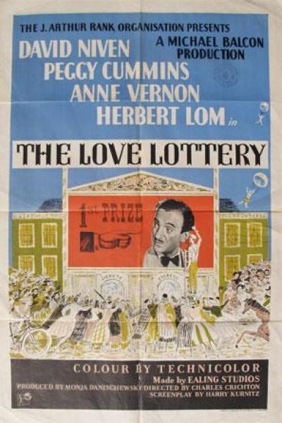 Caratula, cartel, poster o portada de La lotería del amor