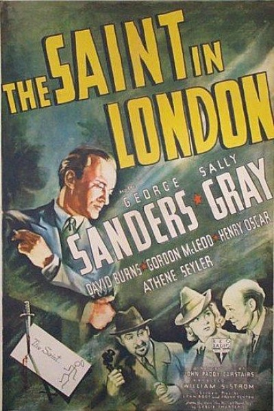 Caratula, cartel, poster o portada de The Saint in London