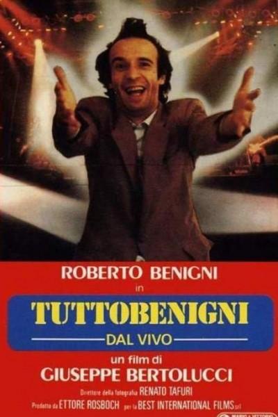 Caratula, cartel, poster o portada de Roberto Benigni: Tuttobenigni