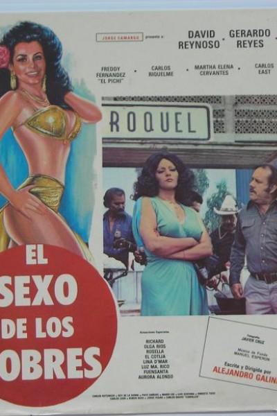 Caratula, cartel, poster o portada de El sexo de los pobres