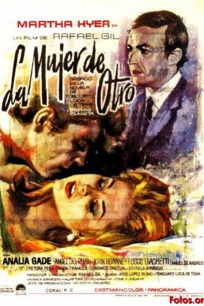 Caratula, cartel, poster o portada de La mujer de otro