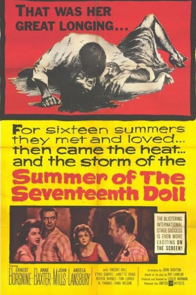 Caratula, cartel, poster o portada de Summer of the Seventeenth Doll