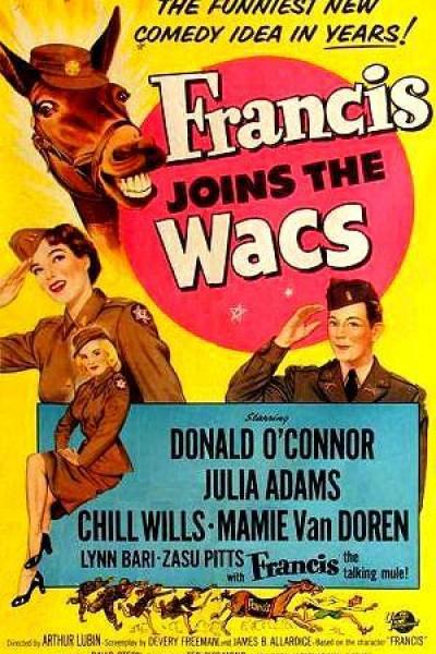 Caratula, cartel, poster o portada de Francis Joins the WACS