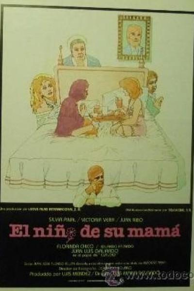 Caratula, cartel, poster o portada de El niño de su mamá